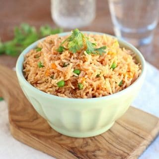 Mexican rice that's easy and healthy
