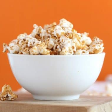 Healthy maple caramel corn recipe