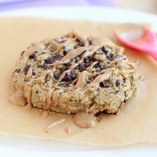 big low sugar oatmeal cookie