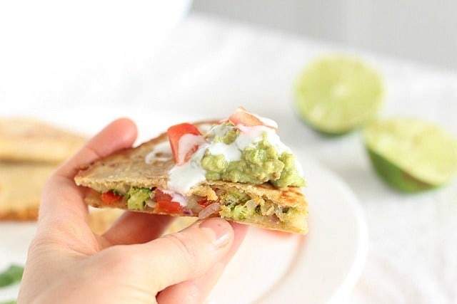 Quesadilla without meat