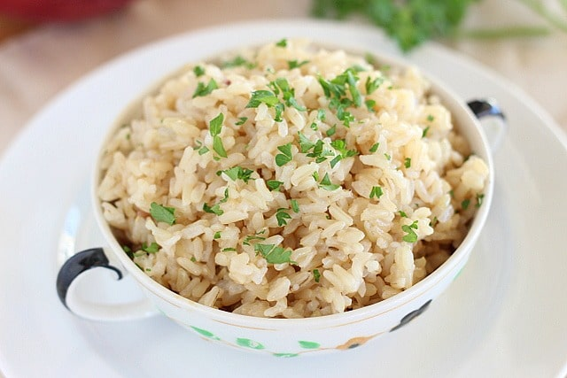How to make brown rice in pressure cooker