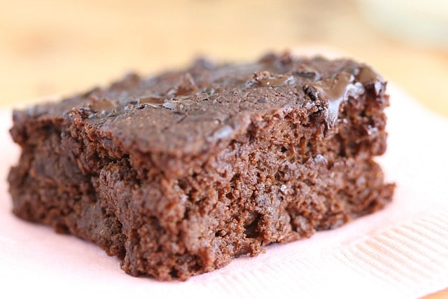 No sugar brownies made with stevia