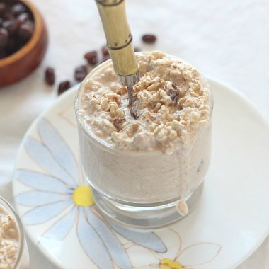 Vegan gluten-free overnight oats