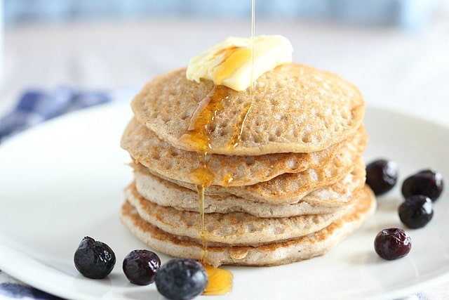 Easy Oil Free Buckwheat Pancakes Oatmeal With A Fork