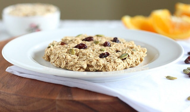 Oatmeal breakfast cookie without fat