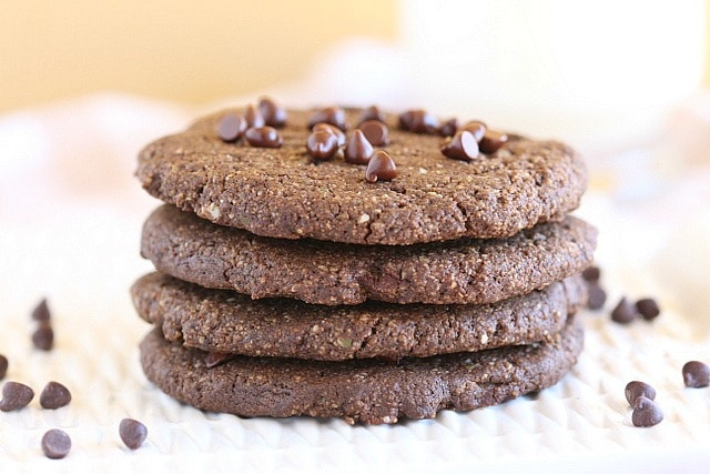 Gluten-free double chocolate chip cookies