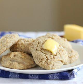 Buckwheat flour biscuit recipe