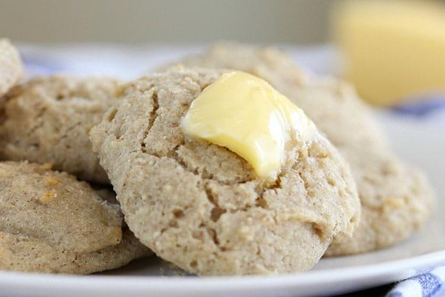 Gluten-free buckwheat biscuit
