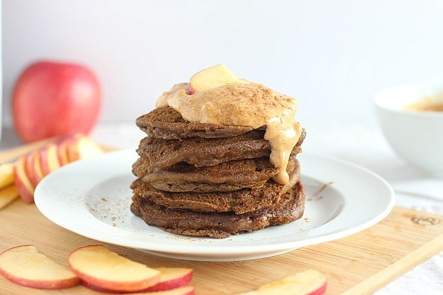 Honey teff pancakes that are gluten-free