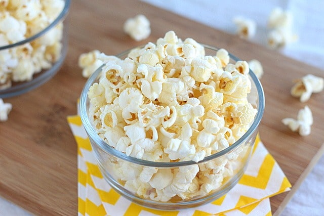 Easy and healthy popcorn recipe