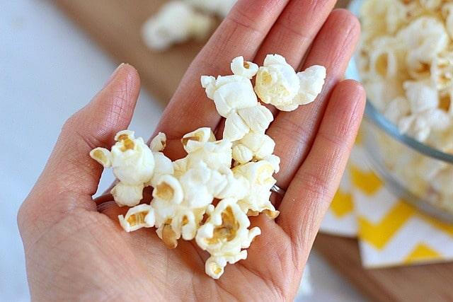 Olive oil popcorn recipe