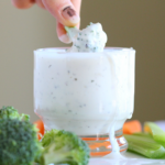 Healthy yogurt ranch dressing