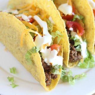 Healthier taco meat recipe