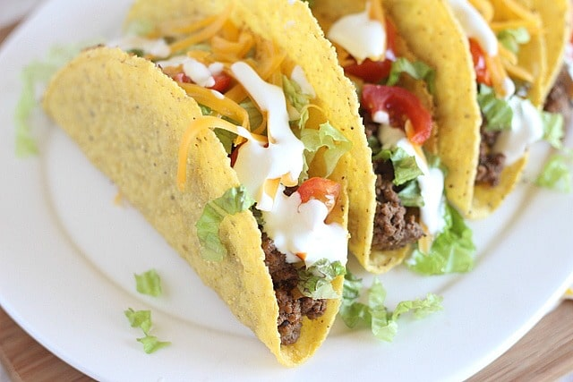 Healthier taco meat recipe