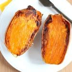 How To Make a Delicious Baked Sweet Potato...Fast!