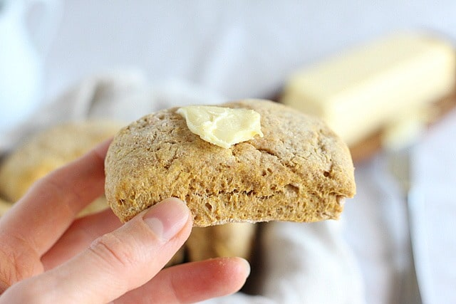 Vegan whole grain biscuits