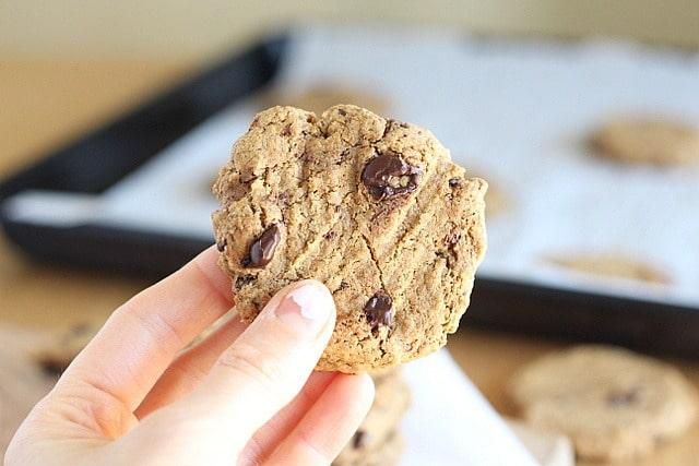 Millet, spelt, kamut flour chocolate chip cookies
