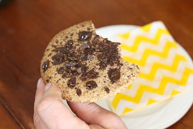 Single serve paleo chocolate chip cookie recipe