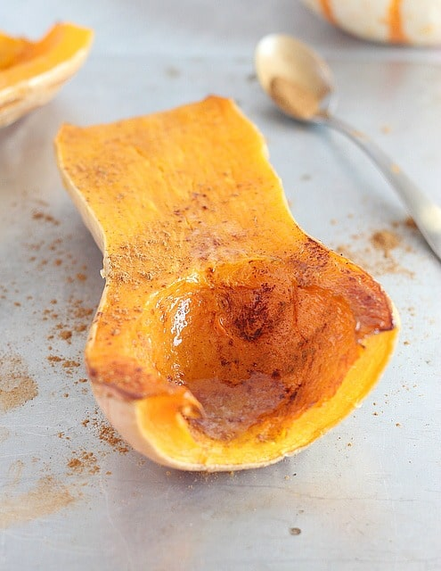 Cinnamon butternut squash without sugar