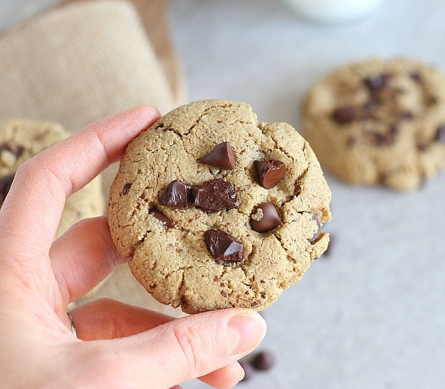 Nut-free chocolate chip cookies