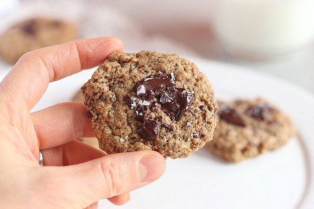 Egg-free low sugar almond butter cookie recipe