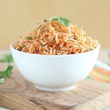 Fluffy Mexican rice in the Instant Pot recipe