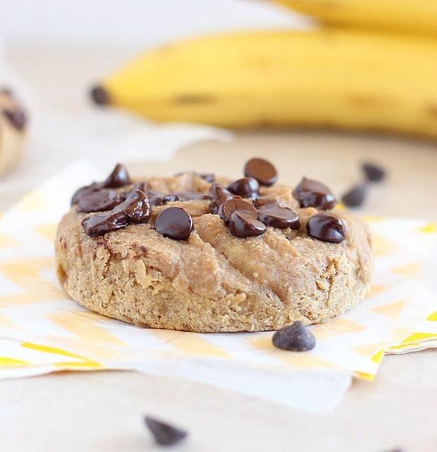 Sugar-free banana chocolate chip cookie recipe