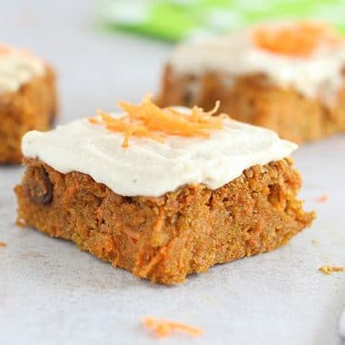 Low sugar carrot cake recipe