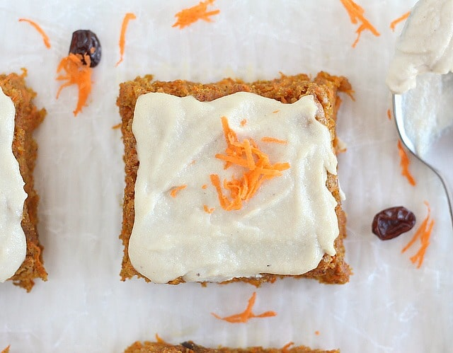 Oat flour carrot cake recipe
