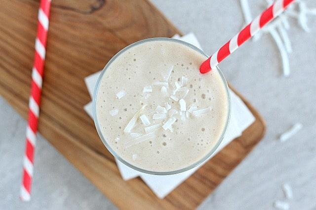 Easy, dairy-free vanilla milkshake recipe