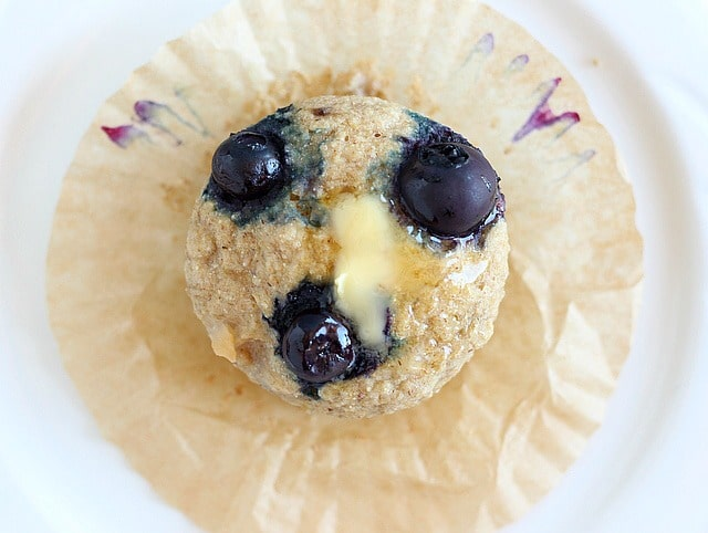 Sugar-free apple buckwheat muffin recipe