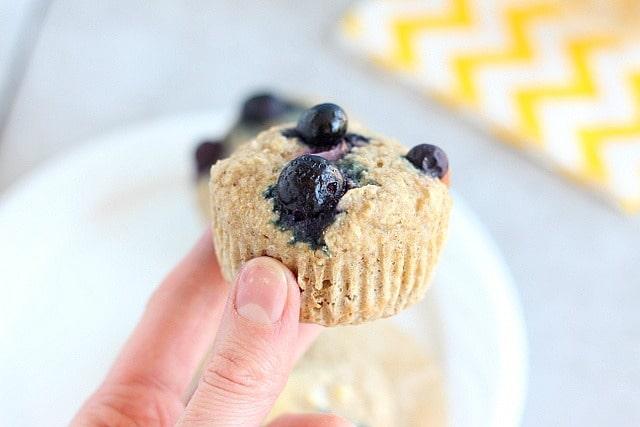 No added sugar buckwheat muffins