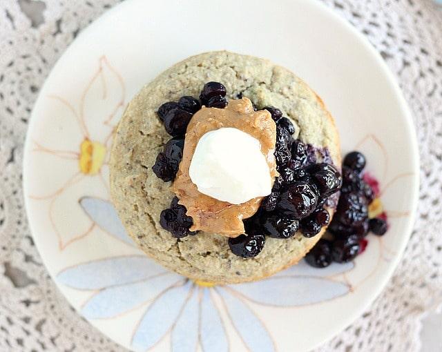 Oil-free, vegan, gluten-free buckwheat protein muffin
