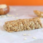 No-Bake Peanut Butter Granola Bar for One