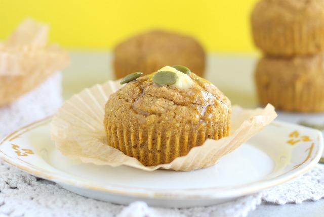 Buckwheat flour pumpkin muffins recipe