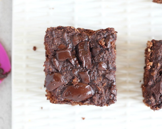 Protein brownies made without protein powder