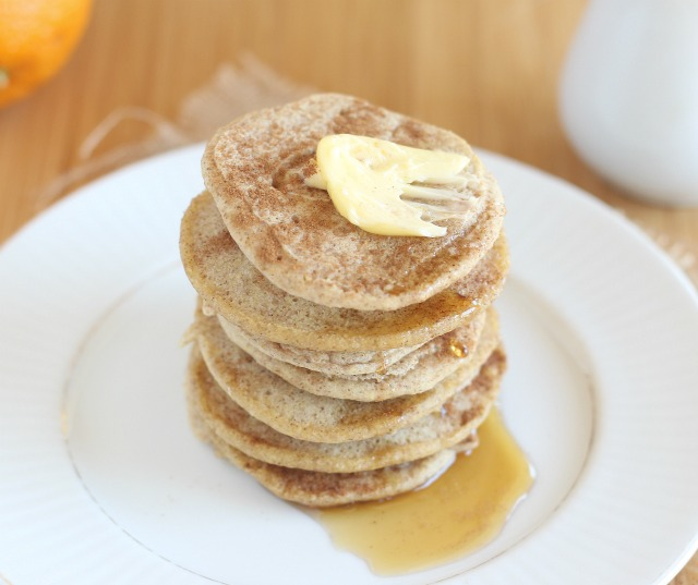 Sugar-free pancakes for the candida diet