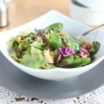 All-In-One Bowl Salad + Dressing