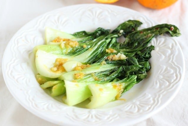 Ginger bok choy recipe without soy sauce