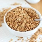Easy granola with only four ingredients