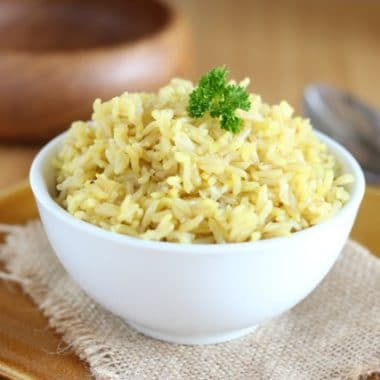 Instant Pot saffron rice recipe