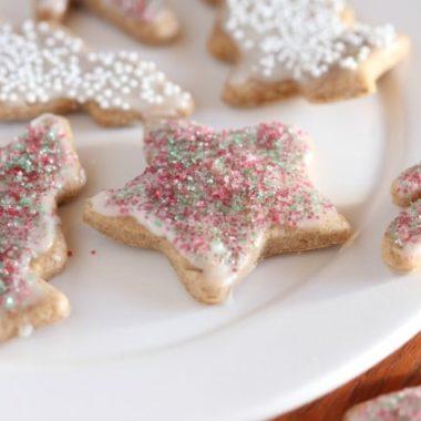 Healthy Christmas cookies recipe