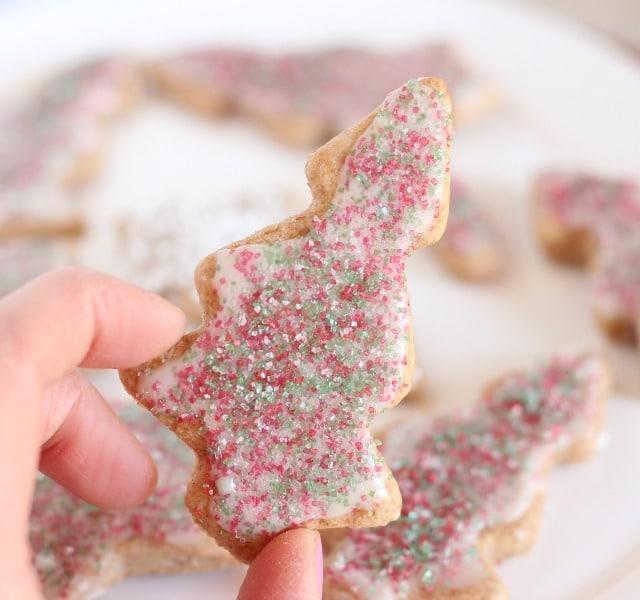 Low sugar cut-out cookie recipe